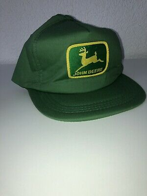 Vintage John Deere  Baseball-hat Trucker Louisville Made In USA - John Deere Trucker Hats