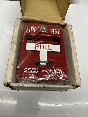 Brand New In Box Spectronics Sg - 32 Fire Alarm Pull Station New Old Stock