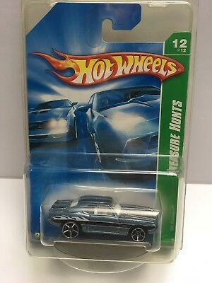 2008 Hot Wheels #172 Treasure Hunt 12/12 Steel Blue 1969 '69 Camaro  for sale  Shipping to Canada