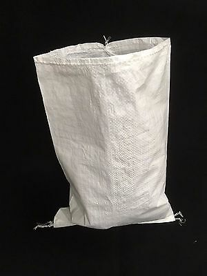 25 x WOVEN POLYPROPYLENE BAGS / RUBBLE SACKS / SAND BAGS 24