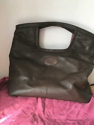 New Country Cognac Brown Leather Tote
