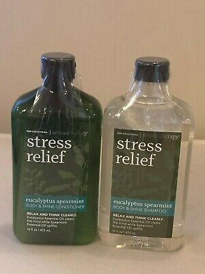 Bath & Body Works Stress Relief Eucalyptus Spearmint Shampoo or Conditioner (Bath & Body Works Shampoo)