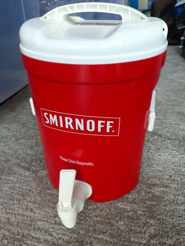 "NEW 10"" Smirnoff Vodka Dispenser Bar Display"