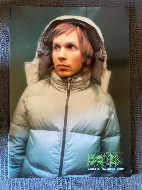 """Beck Hansen"" Tourbook Midnite Vultures Tour 2000 in Japan Booklet"