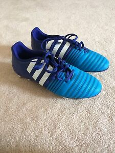Adidas Soccer Cleats with Shin Pads