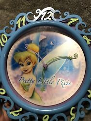 Disney Tinkerbell Fairy Battery Wall Clock Pretty Little Pixie-The Magic Touch