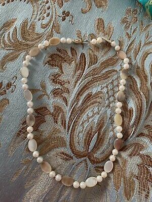 QVC Honora Pearls Pearl Mother Of Pearl Necklace New