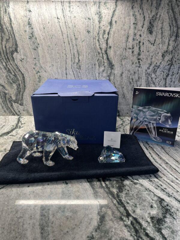 Swarovski SCS Polar Bear Siku Annual Edition 2011 1053154 New In Box