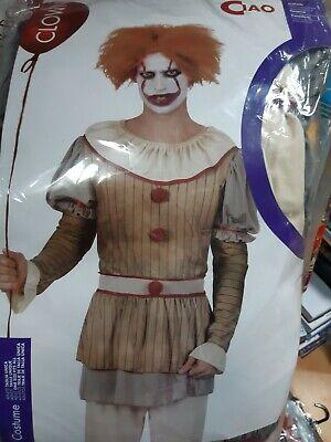 Costume Clown Horror adulto Halloween Carnevale Ciao