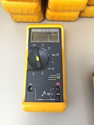 Fluke 73 Series Ii Multimeter W Case Working Condition