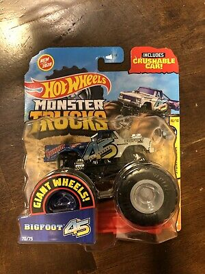 Hot Wheels Monster Trucks Bigfoot 45th Anniversary