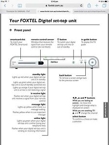 Foxtel Digital Set Top Box Wattle Grove Liverpool Area Preview