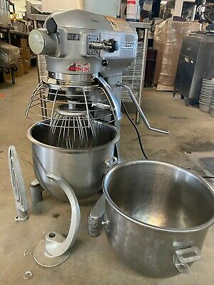 Hobart A200 Commercial 20 Qt Countertop Dough Mixer With Bowl Guard Package Deal