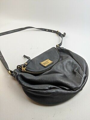 Mark By Marc Jacobs Black Leather Crossbody Side Bag