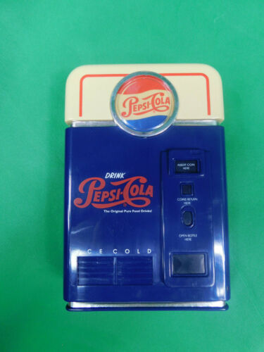 Pepsi-Cola Coin Sorter, Mini Vending Machine Collectible: N3
