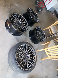 Xxr 553 20 inch wheels Abbotsbury Fairfield Area Preview