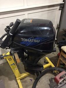 Tohatsu 20 hp electric start outboard