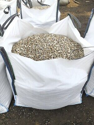 20MM DECORATIVE WASHED LIMESTONE BULK BAG.FREE Delivery 5 mile of hd21uw. Gravel