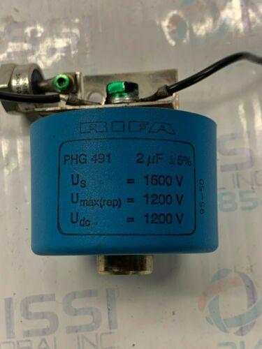 RIFA Capacitor PHG 491 1200 / 1500VDC 2 uF