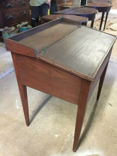 Antique GA Pine Plantation Desk - Original Red Finish