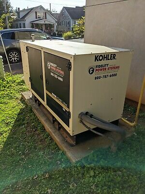 Kohler 50rezgb Generatortransfer Switch Low Hours Fantastic Condition