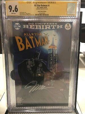 Usado, DC Rebirth All Star Batman # 1 Jim Lee Signature Series CGC 9.6 Micheal Turner segunda mano  Embacar hacia Argentina