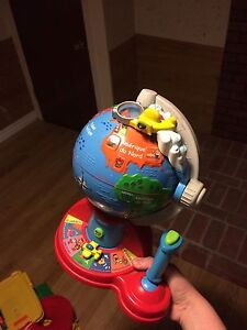 French learning globe