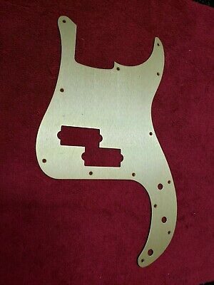 NEW Genuine Fender Pickguard For '62 P. Bass - GOLD ANODIZED,