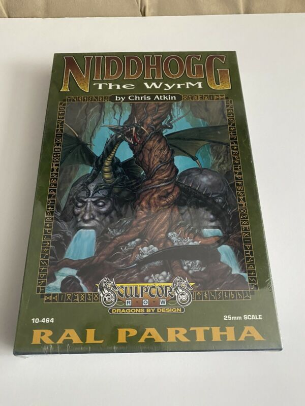 RAL PARTHA NIDDHOGG WYRM*SEALED*NIB* Dungeons & Dragons Metal Figure