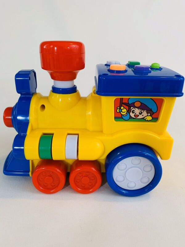 Toy Train For Toddlers Makes Train Sounds