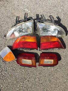 Head and tail lights for 1994 Honda Civic