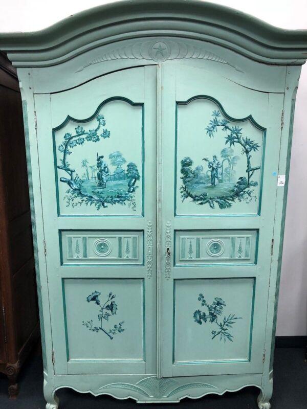 Antique Painted Armoire