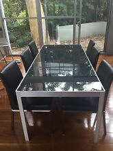 6 or 8 seater dining table and 6 chairs Castlecrag Willoughby Area Preview
