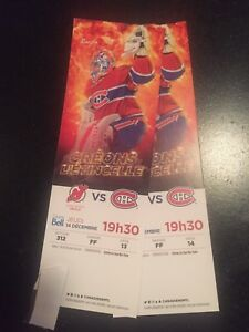 Montreal Canadiens vs New-Jersey Devils tickets