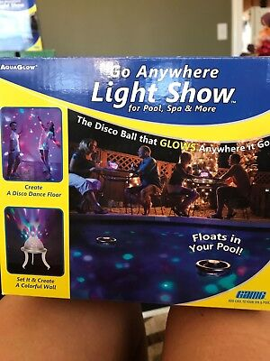 Floating disco ball light show for pools, spa & more - Disco Balls For Kids