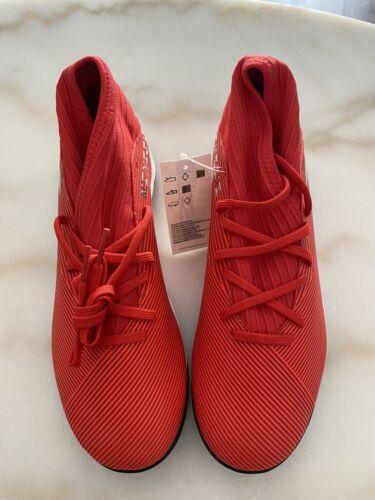 New Adidas Nemeziz 19.3 TF Turf Soccer Shoes Red Silver F344