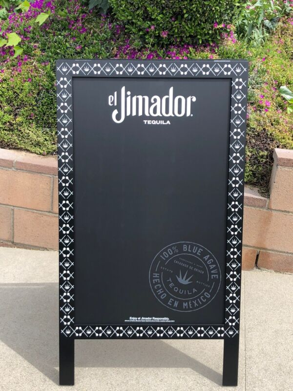 El Jimador Tequila Beer Bar A-Frame Chalkboard  Man Cave Mirror