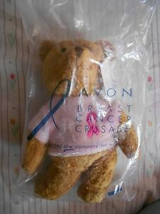 NIP PLUSH AVON BREAST CANCER BEAR 2001