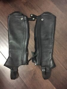 Woman's Ariat Half Chaps - Size Small