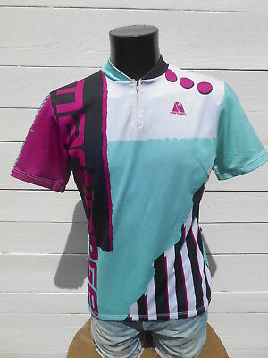 5fc3abb13 MARTINAGE Maillot Jersey Camiseta True Vintage 90s Made in France Cycling 5