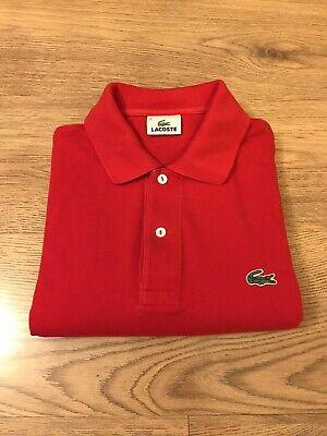 100% Authentic Classic Lacoste Polo Shirt (L1212) Size 2 XS (RRP £80)