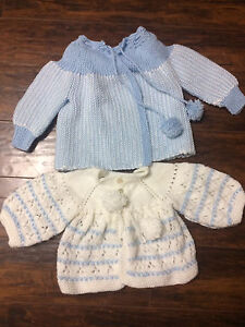 0-3 Month Boy (Knit Sweaters & Shoes)