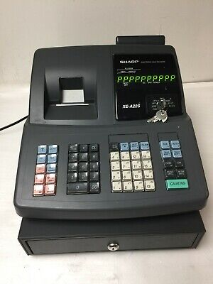 Sharp Cash Register Xe-a22s As Is Read