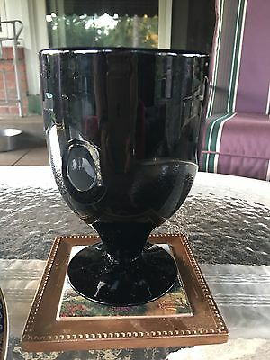 Black Wine Glasses (Williams Sonoma Ebony Black Wine Glasses)