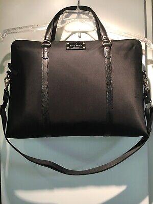 NWT Kate Spade Black Nylon Laptop Bag