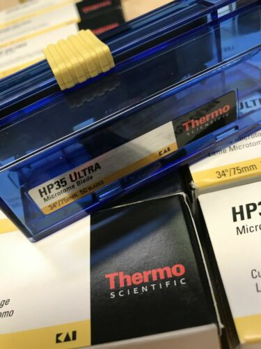 Thermo Scientific 3153735 HP35 Ultra Microtome Blade - Pack of 50 Blades