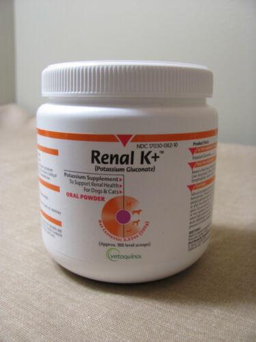 Vetoquinol Renal K+ (Potassium Gluconate) Potassium Supplement Powder Cats Dogs