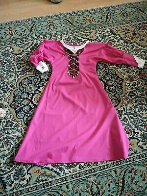Mittelalterliches Kleid mit Passender Haube und Unterrock Größe - Mittelalterliche Haube