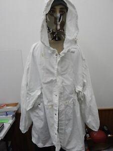 3c5cddaeef6e2 Military Snow Camouflage White Camo Winter Jacket Coat Parka Medium, good  cond