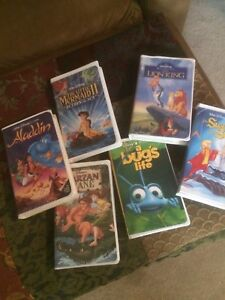 VHS Children Movies